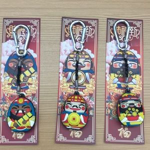 Accessories - Lucky Buddha Key Chains QTY 3